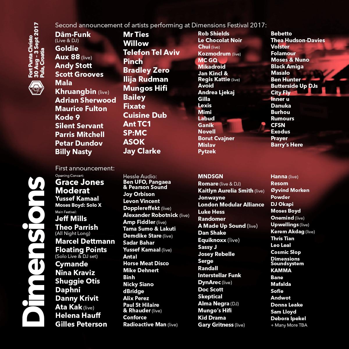 Više od 120 izvođača stiže na Dimensions festival, epicentar svjetske elektroničke glazbe u Puli 1
