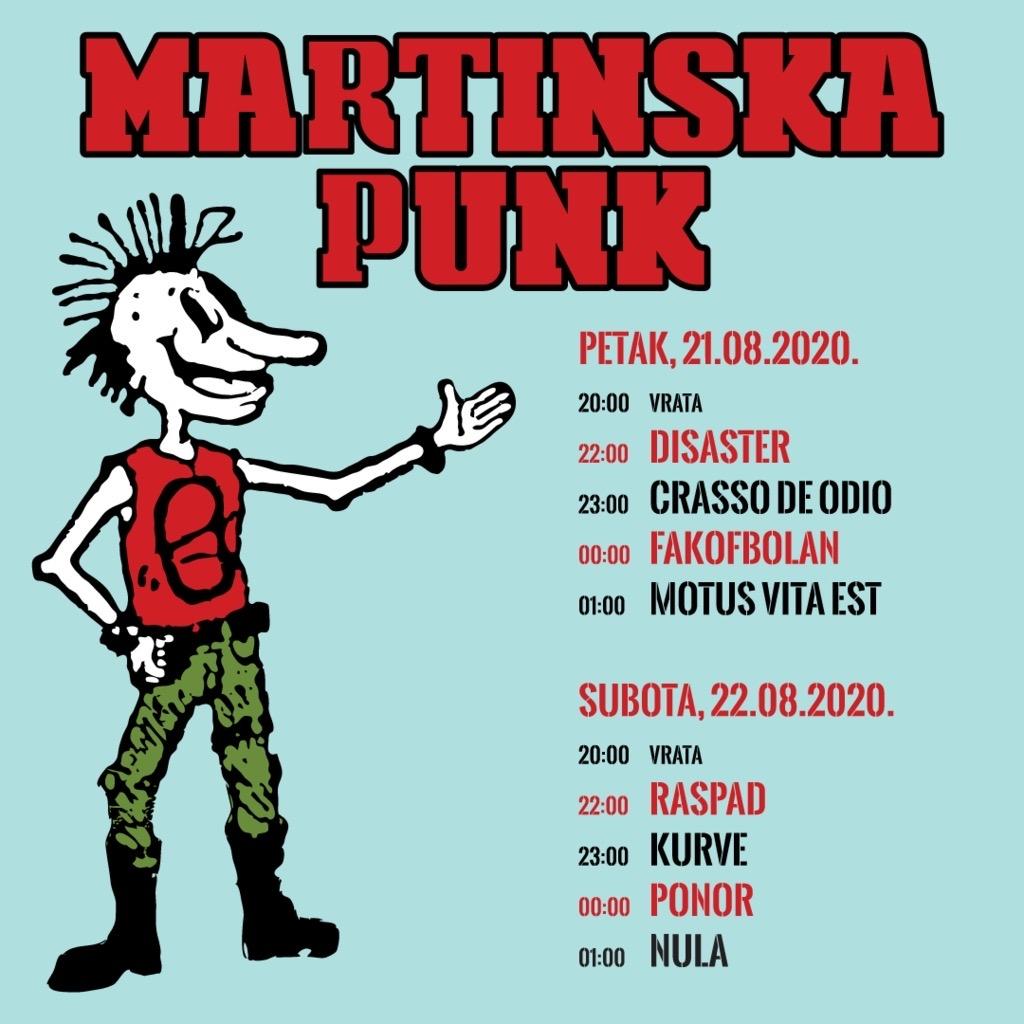 Martinska Punk ovog vikenda predstavlja ponajbolja imena domaće scene