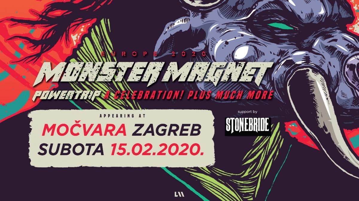 Stonebride kao gosti kultnom američkom bendu Monster Magnet