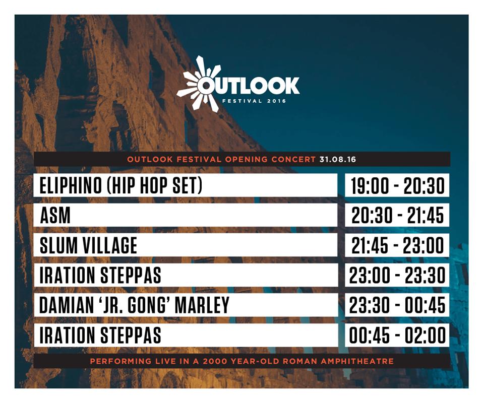 Outlook Festival u pulsku Arenu po prvi put dovodi Damiana Marleyja 6