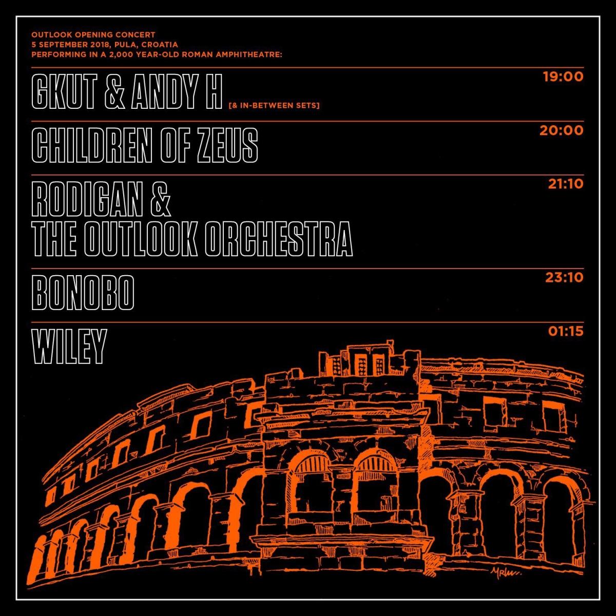 Objavljena satnica koncerta otvorenja 11. Outlooka kojeg predvode Bonobo i David Rodigan